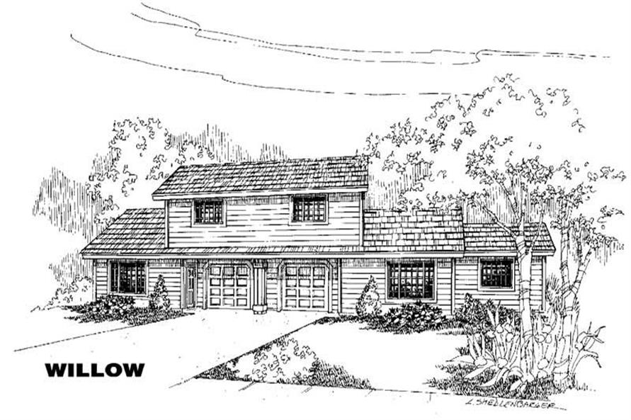Main image for house plan # 5781