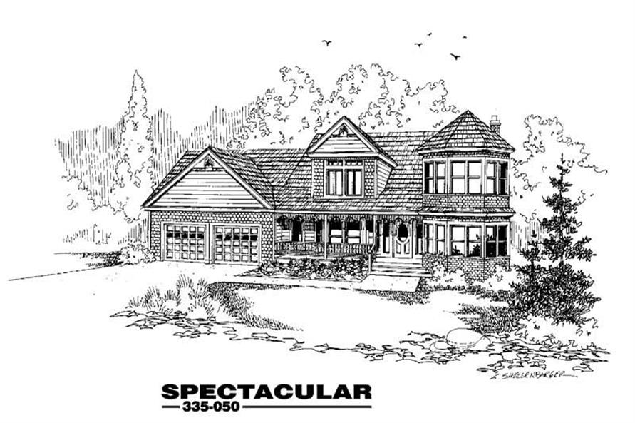 Main image for house plan # 3601