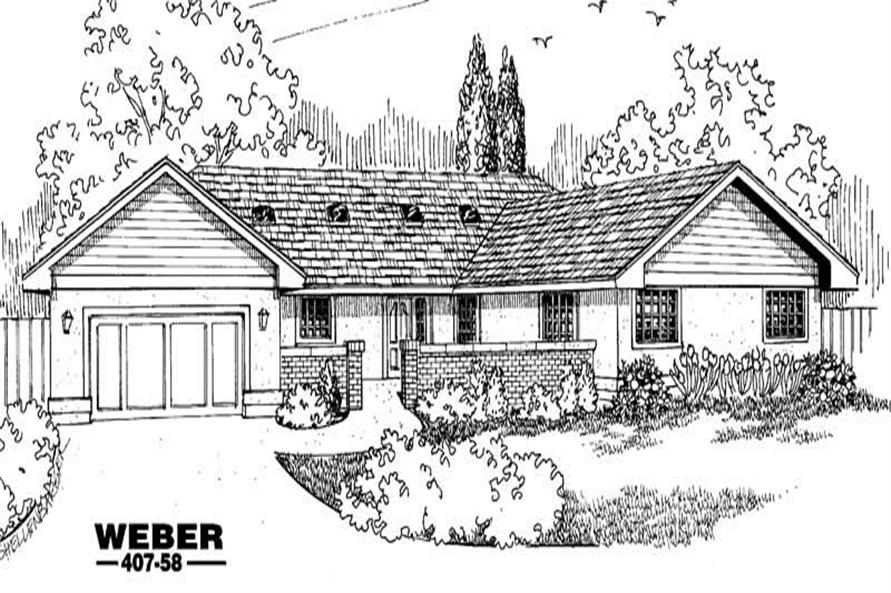 Main image for house plan # 6629