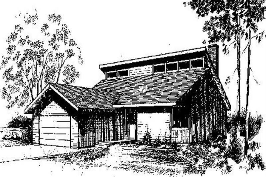 Main image for house plan # 6728