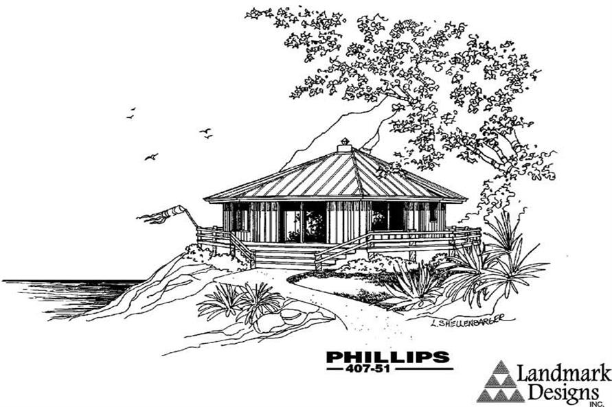 Main image for house plan # 6624