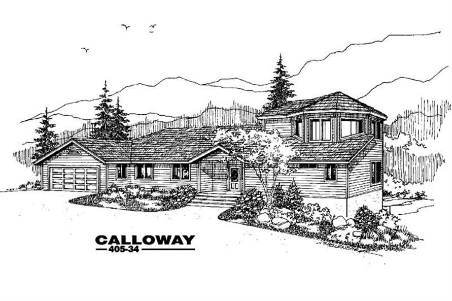 Main image for house plan # 6369