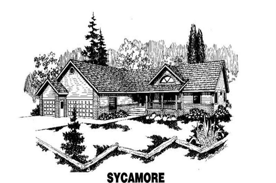 Main image for house plan # 3551