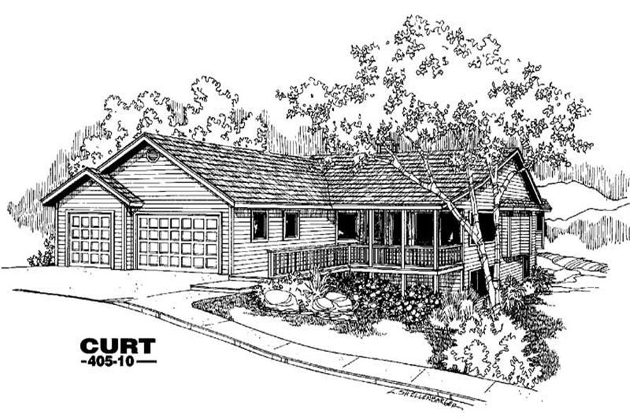 Main image for house plan # 6353