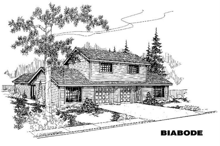Main image for house plan # 6351