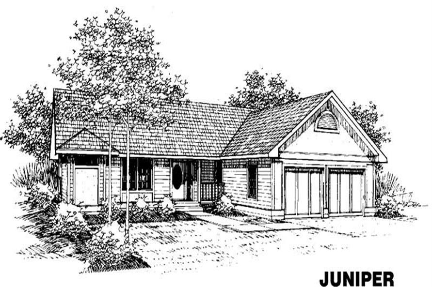Main image for house plan # 3548