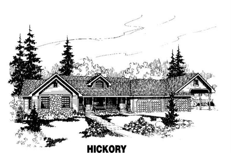 Main image for house plan # 3547