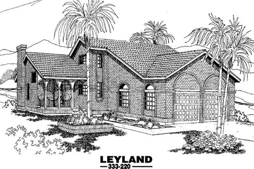 Main image for house plan # 3554