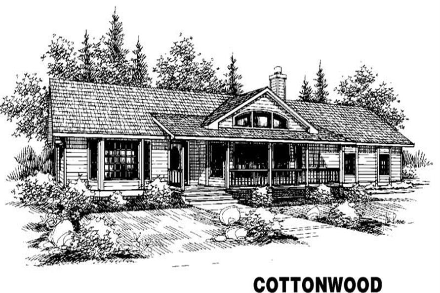 Main image for house plan # 3519