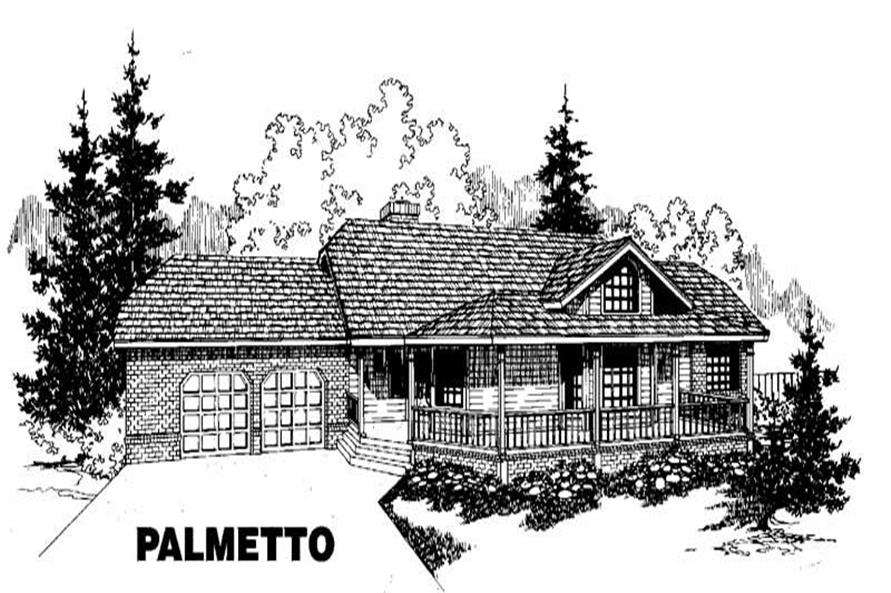 Main image for house plan # 3516