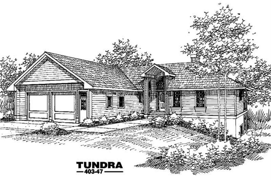 Main image for house plan # 5527