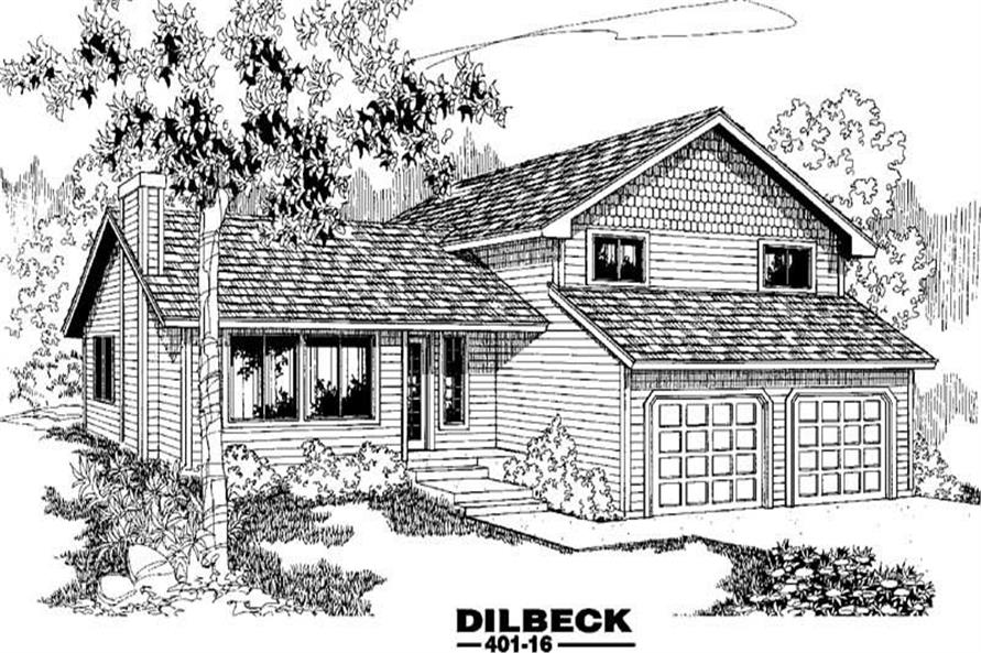 Main image for house plan # 3893