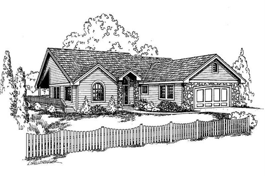 Main image for house plan # 6622