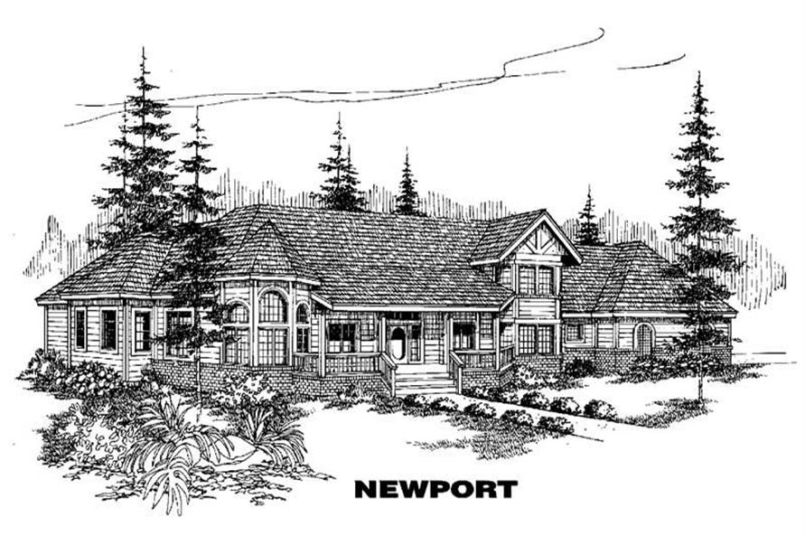 Main image for house plan # 3592