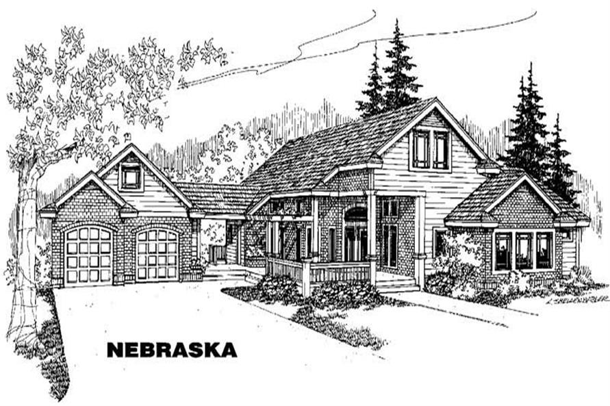Main image for house plan # 3594