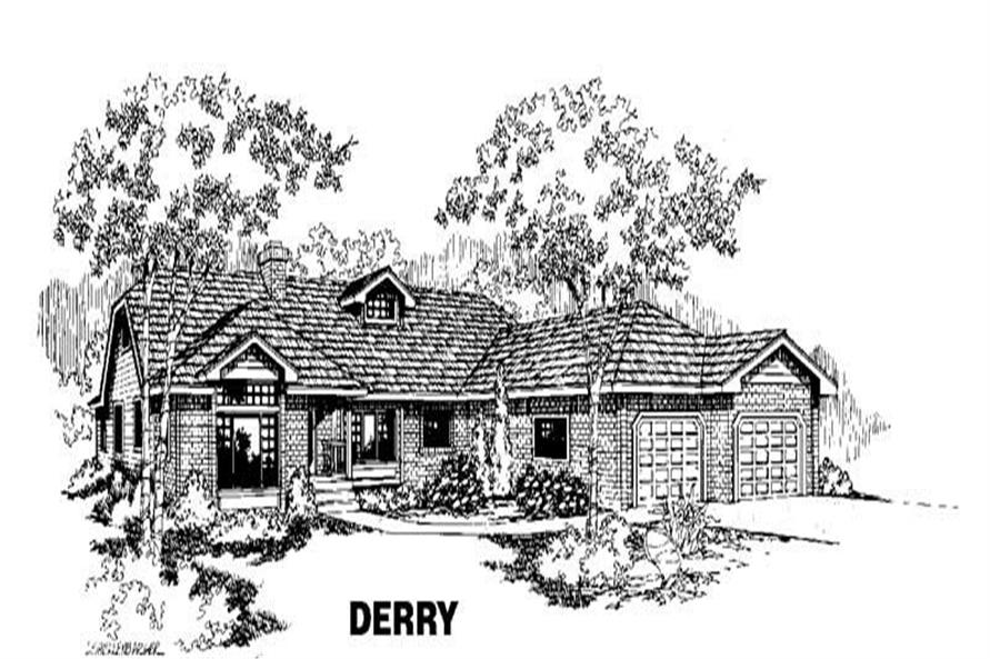 Main image for house plan # 3562