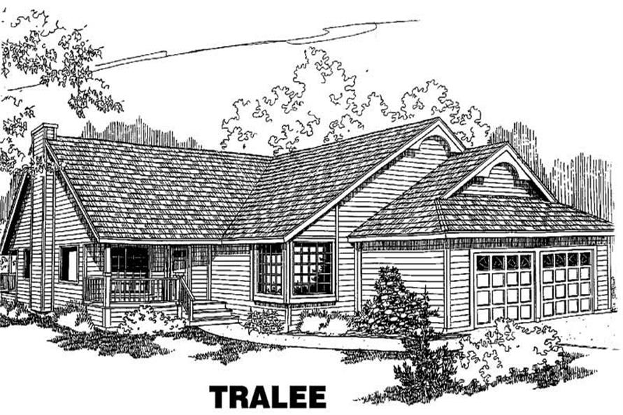 Main image for house plan # 3561