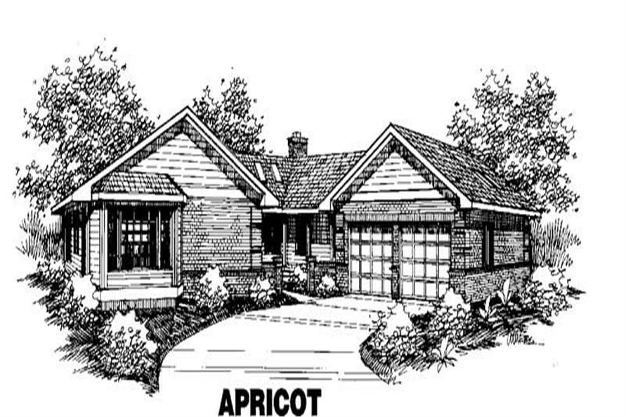 Main image for house plan # 3555