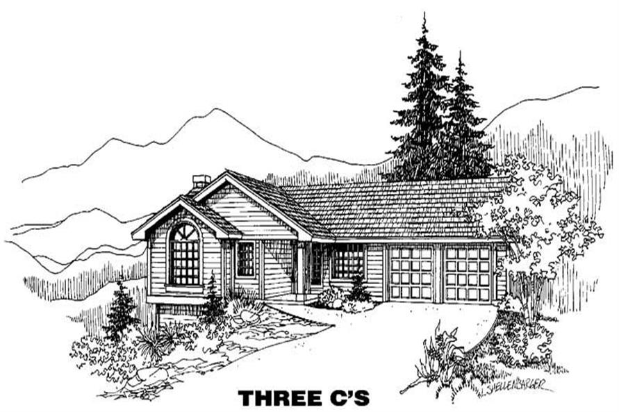 Main image for house plan # 6382