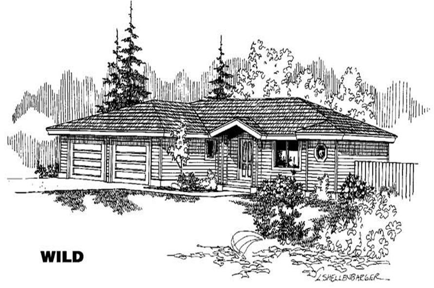 Main image for house plan # 6349