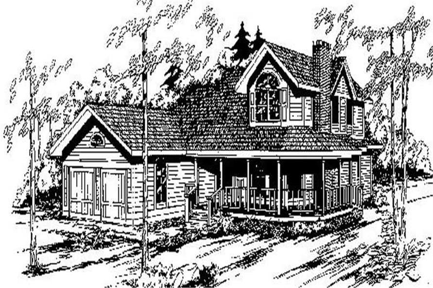 Main image for house plan # 6774