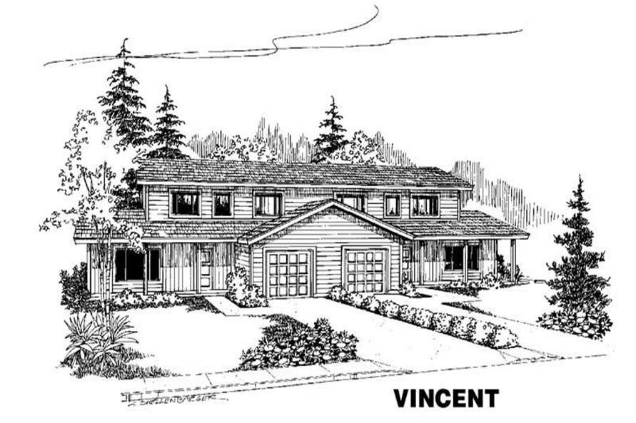 Main image for house plan # 4219