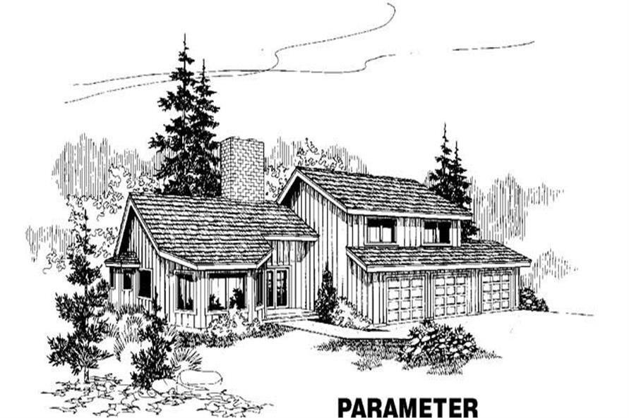 Main image for house plan # 4216