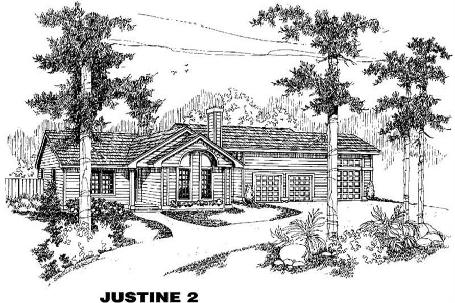 Main image for house plan # 4215