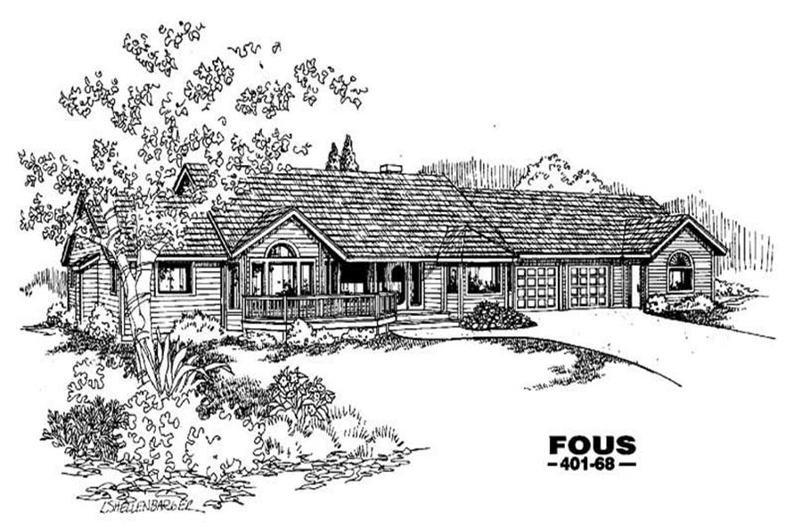 Main image for house plan # 4214