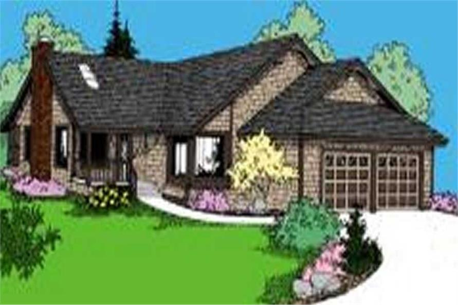 Main image for house plan # 7656