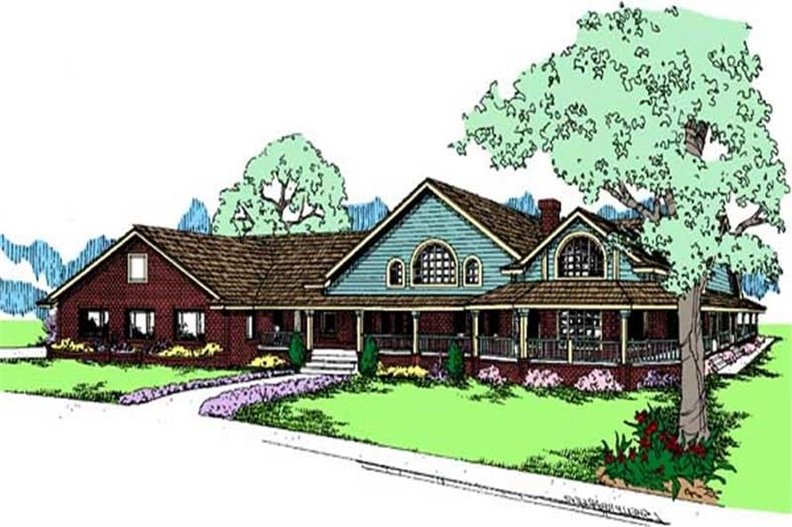 Main image for house plan # 6795