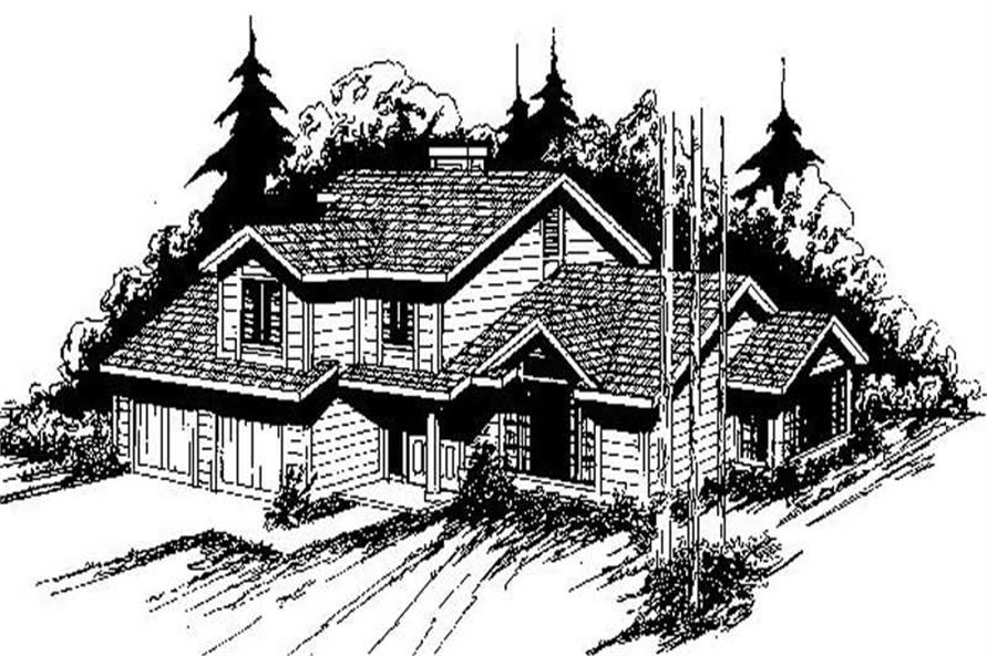 Main image for house plan # 6773