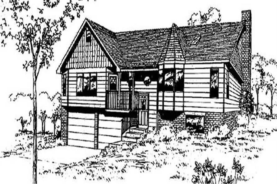 Main image for house plan # 6767