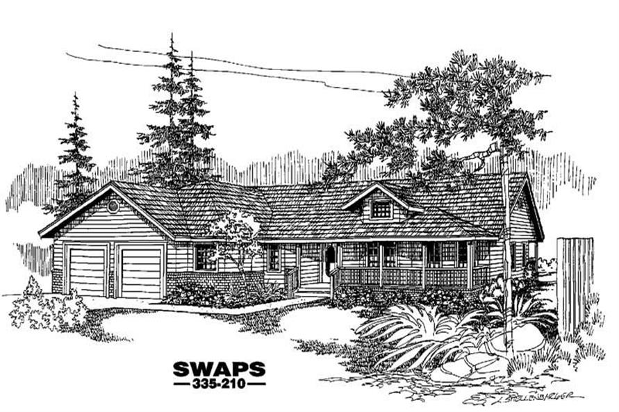 Main image for house plan # 3610