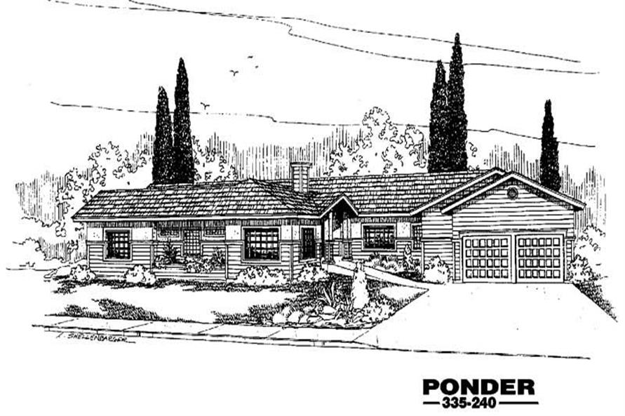 Main image for house plan # 3612