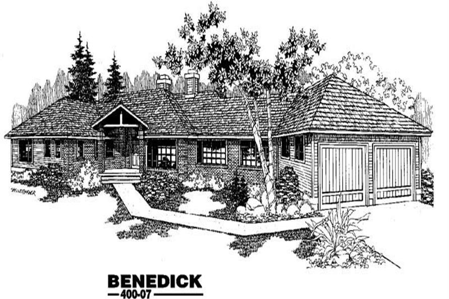 Main image for house plan # 3842