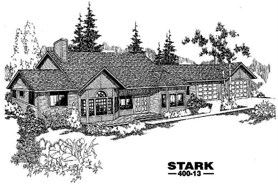Main image for house plan # 3846