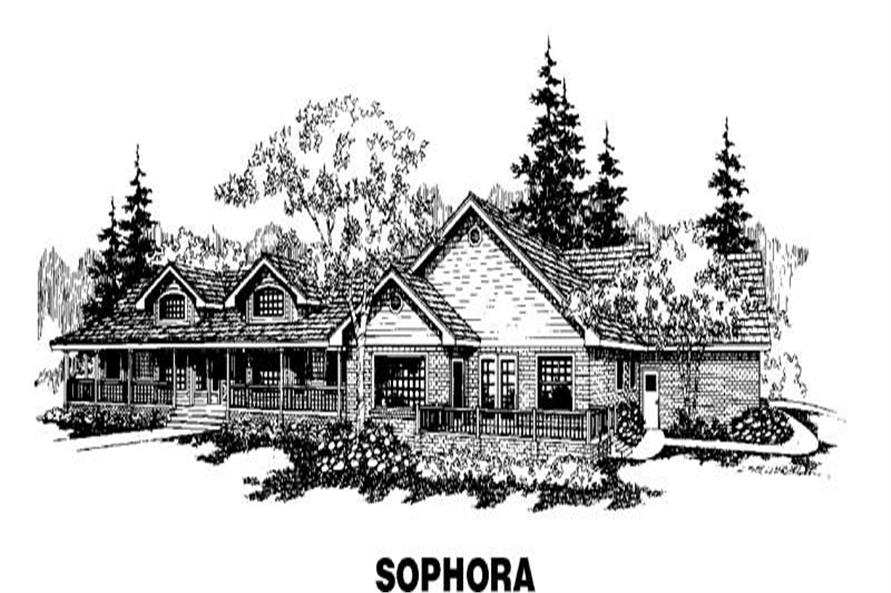 Main image for house plan # 3512
