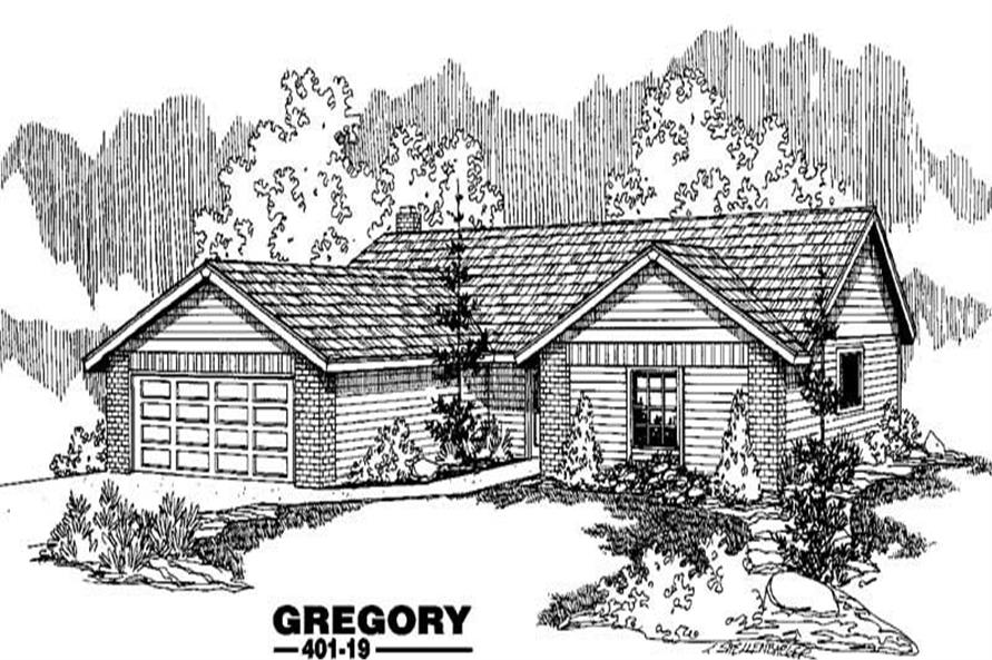 Main image for house plan # 3896