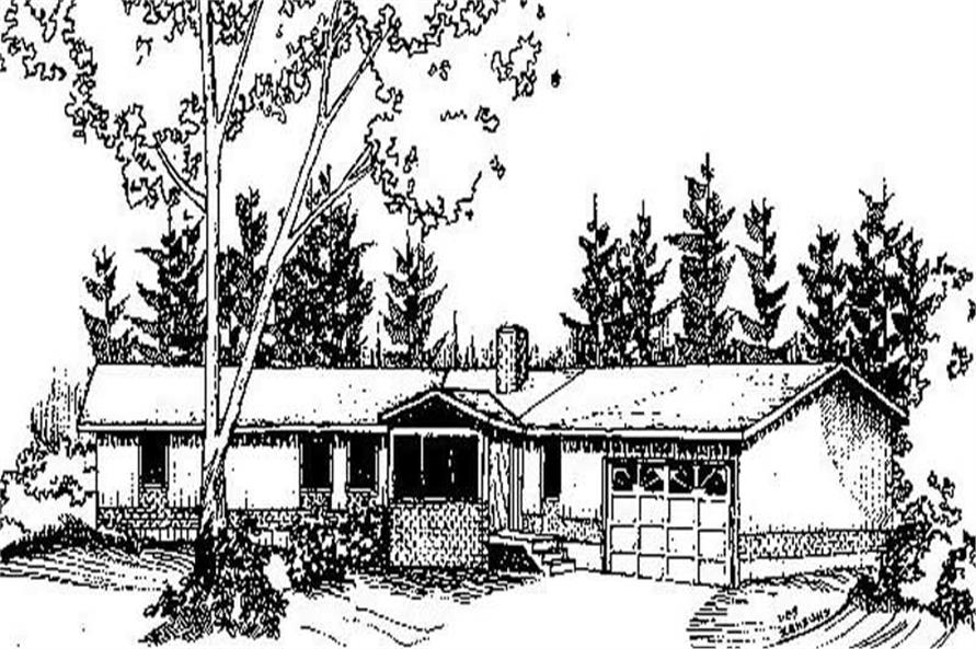 Main image for house plan # 6746