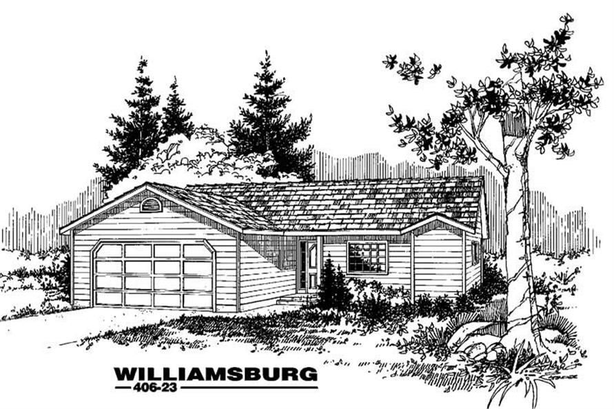 Main image for house plan # 6571