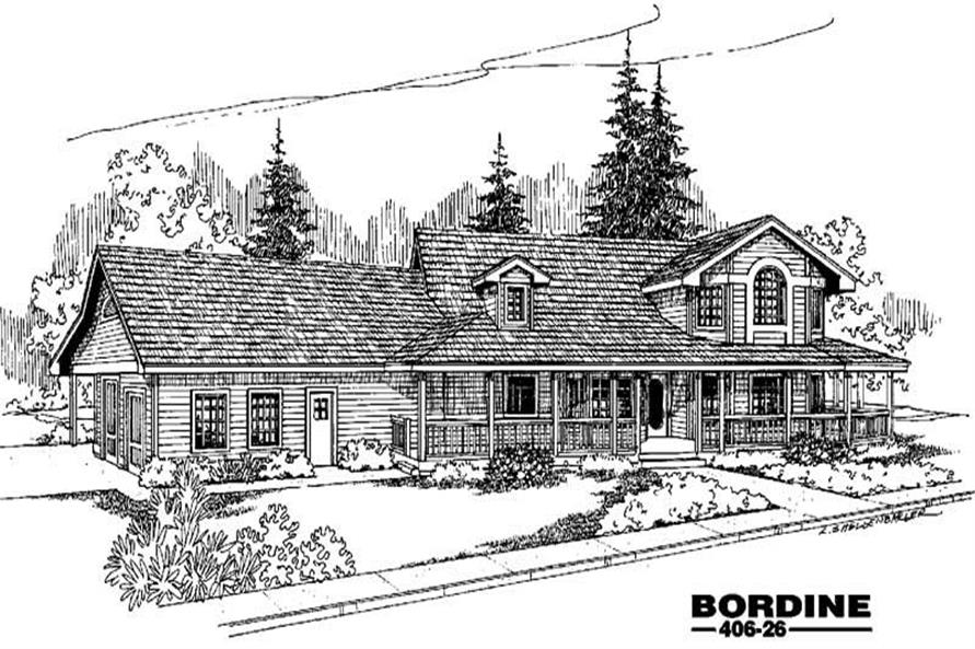 Main image for house plan # 6573