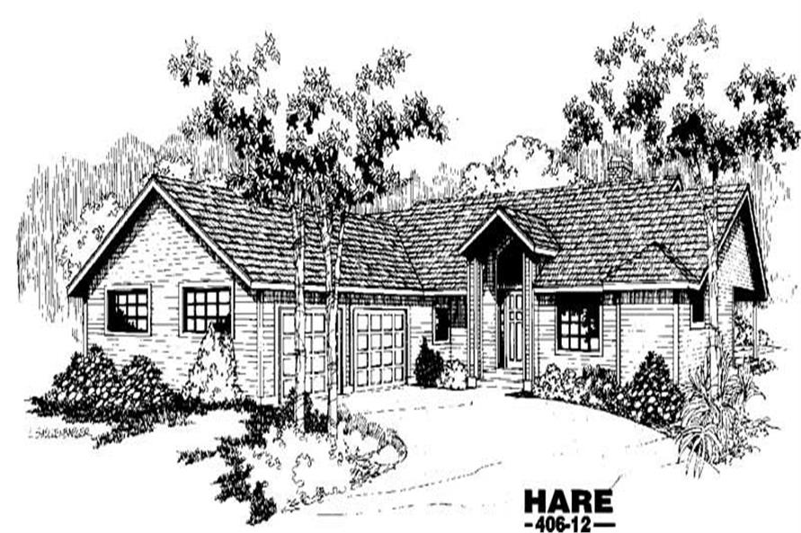 Main image for house plan # 6568