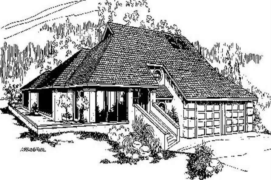 Main image for house plan # 6780