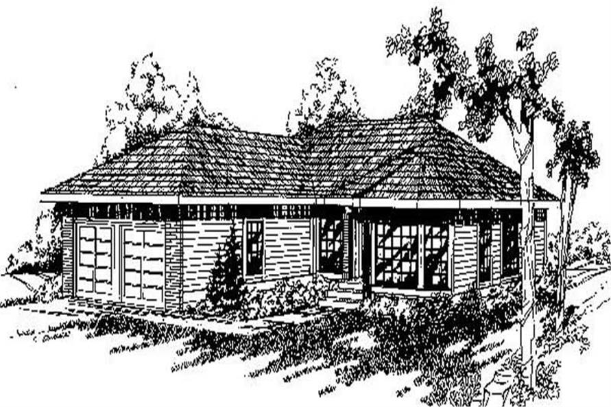 Main image for house plan # 6776