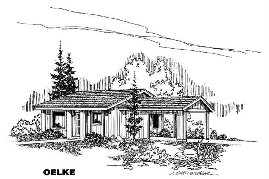 Main image for house plan # 4681