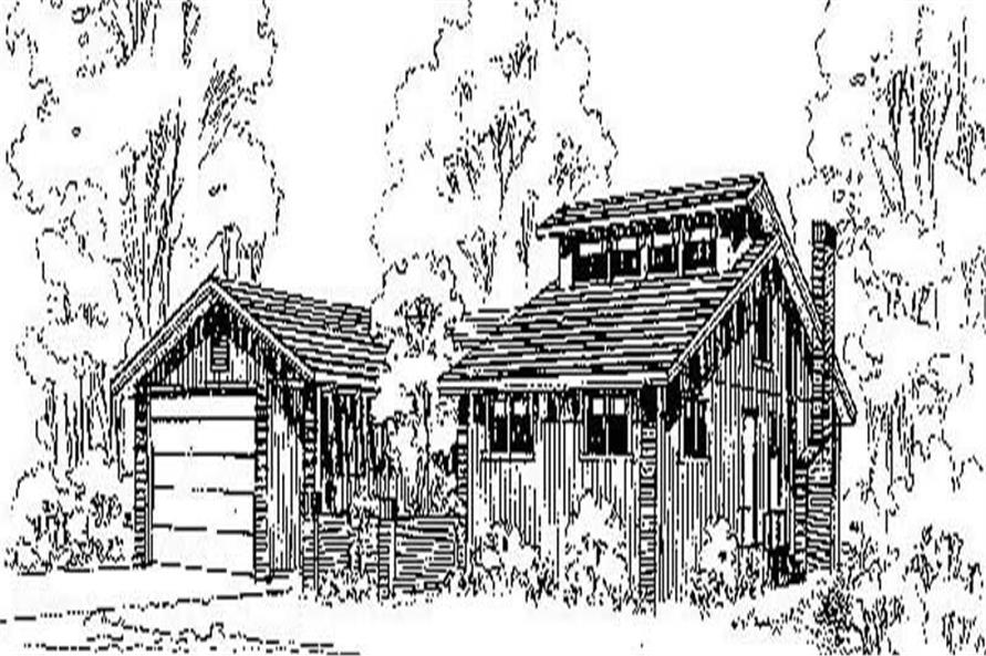 Main image for house plan # 6747
