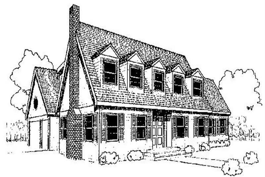 Main image for house plan # 6745