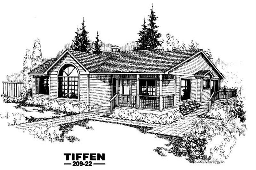 Main image for house plan # 3363