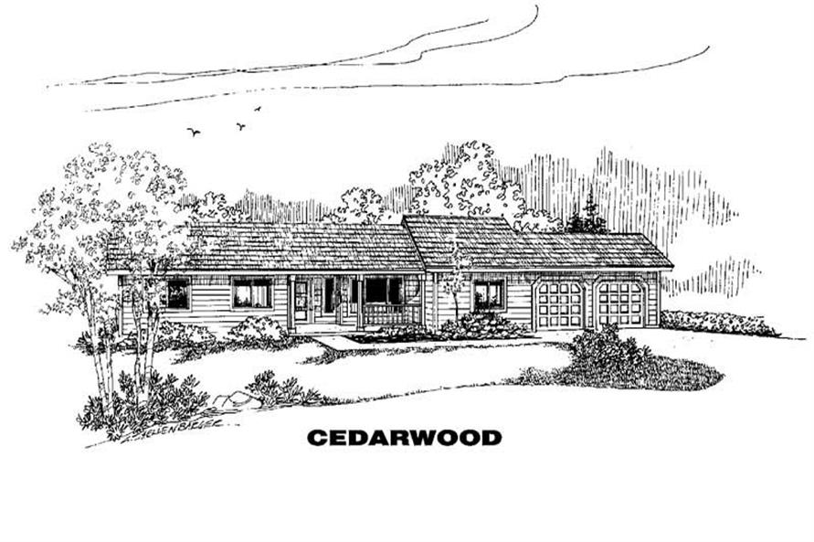 Main image for house plan # 4679